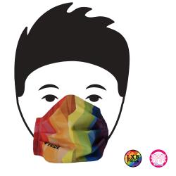 LXB Pride Gesichtsmaske aus...
