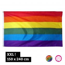 "Fahne ""Regenbogen"" XXL..."