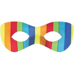 Maske Regenbogen