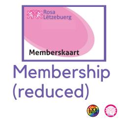 Membership 2021 (Reduced rate)